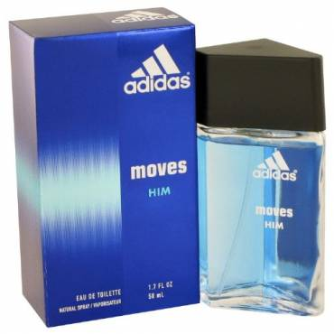 Adidas Moves For Men Eau De Toilette Spray, A perfect gift for the man in your life