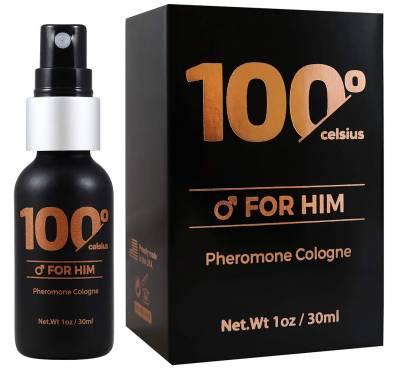 100 Celsius For Him, Aphrodisiac Perfume To Boost Your Pheromones Presence