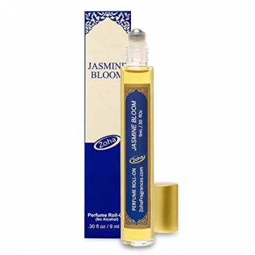Jasmine Bloom Perfume Oil Roll-On (No Alcohol) 15ml / 0.30 fl Oz, Best None alchohol perfume