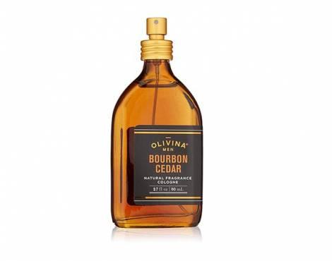 Olivina Men Natural Fragrance Cologne, Bourbon Cedar, Best natural Cedar wood perfume