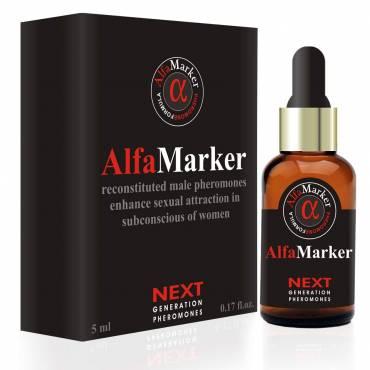 Alfamarker Men`s Pheromone, Highly Concentrated Human Pheromone Formula Fragrant Oil Perfume