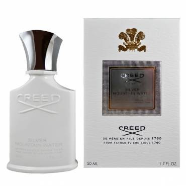Creed Silver Mountain Water by Creed Eau De Parfum Spray, last longer and smell more intense.
