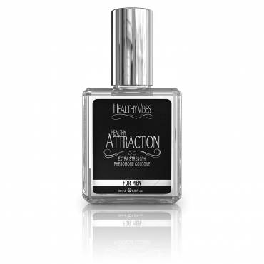 Healthy Attraction Extra Strength Pheromone Oil Infused Cologne, Made with Andronone and Copulandrone Pheromones for Maximum Sexual Attraction