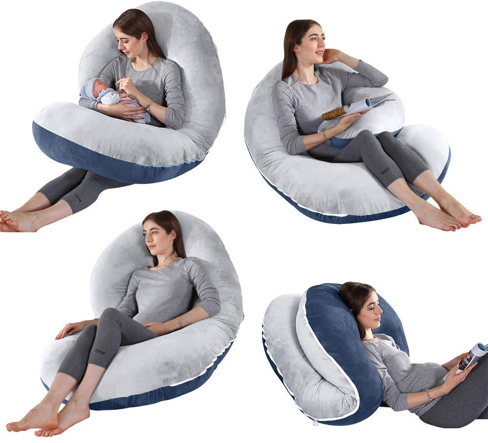 Different postures you have with this pillow