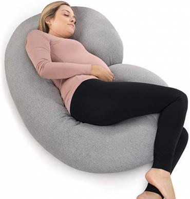 PharMeDoc Pregnancy C-Shaped Full Body Pillow, The Best C-Shaped full body pillow