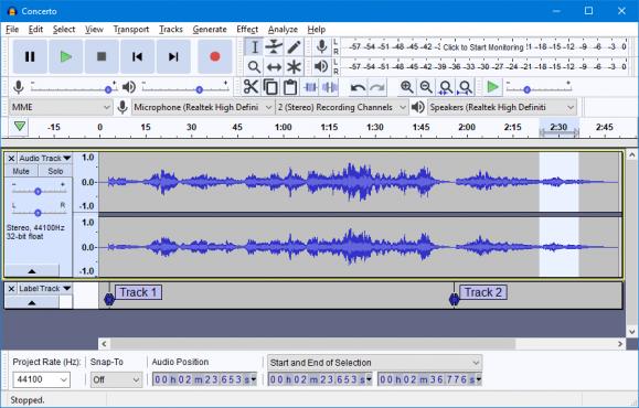 Audacity , The best Free, open source, cross-platform audio software