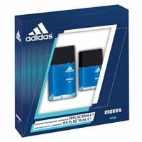 Adidas Moves by Coty for Men 2 Piece Set